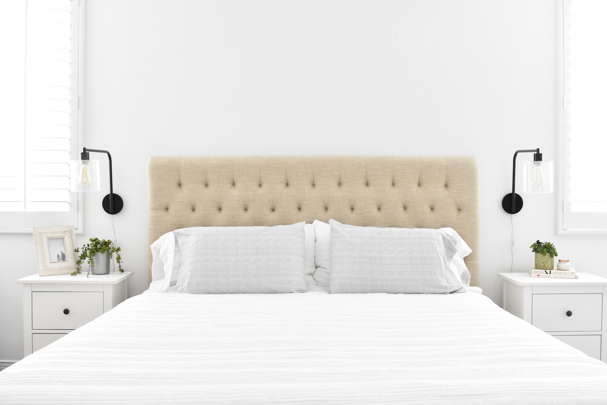 Style At Home Our California Casual Bedroom Natalie Borton Blog
