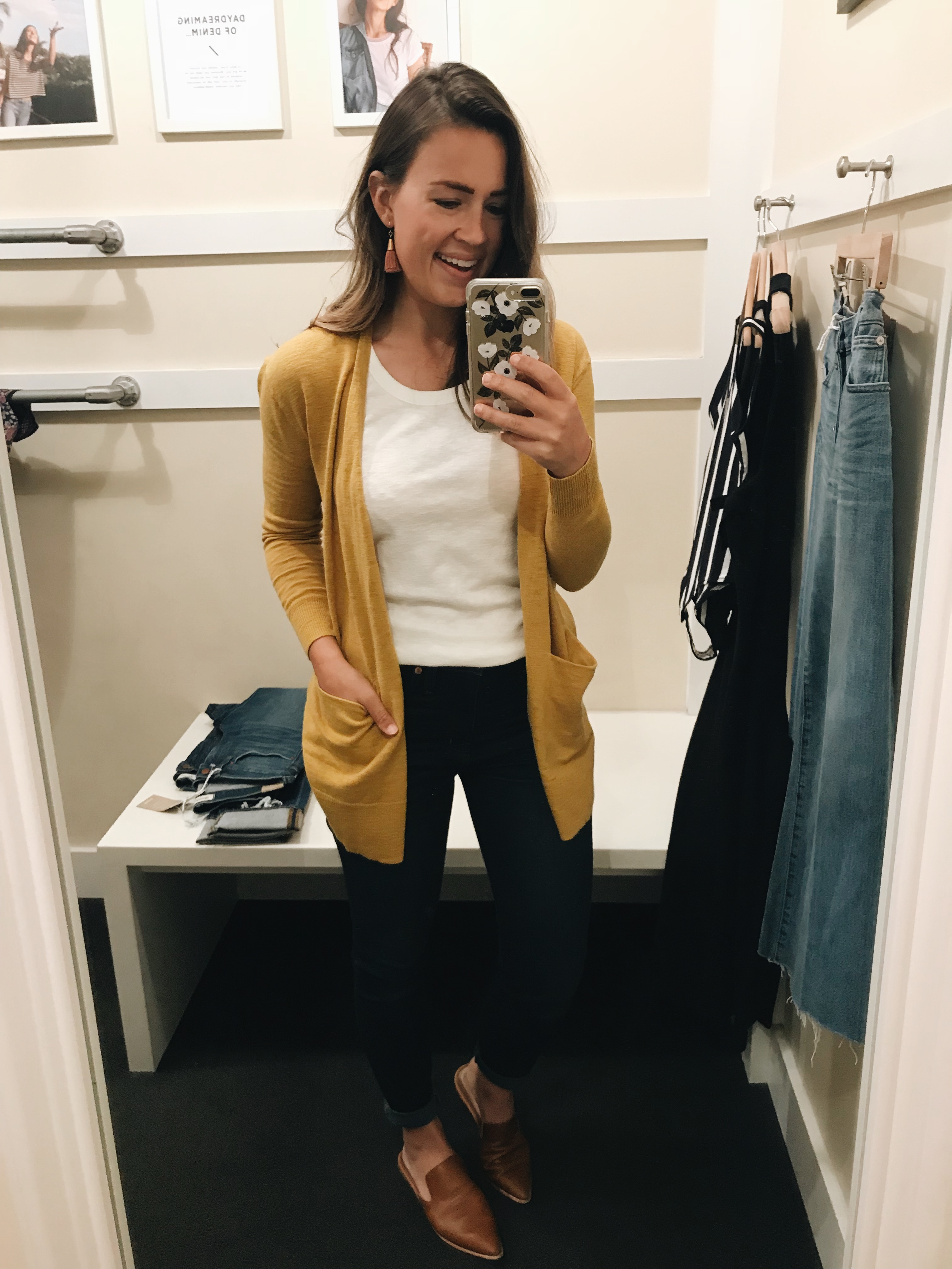 c0efdaf9c6ca Summer Ryder Cardigan Sweater    I just can t get enough of this color  lately! It s more golden mustard toned than cheery yellow like it looks on  the ...